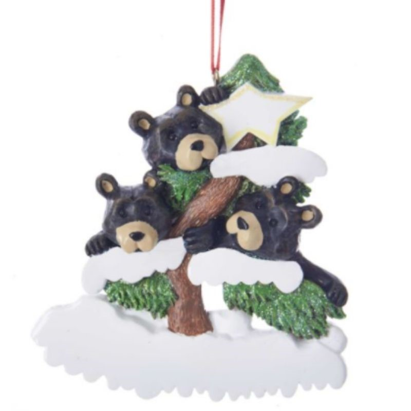 Bear Family of 3 Ornament