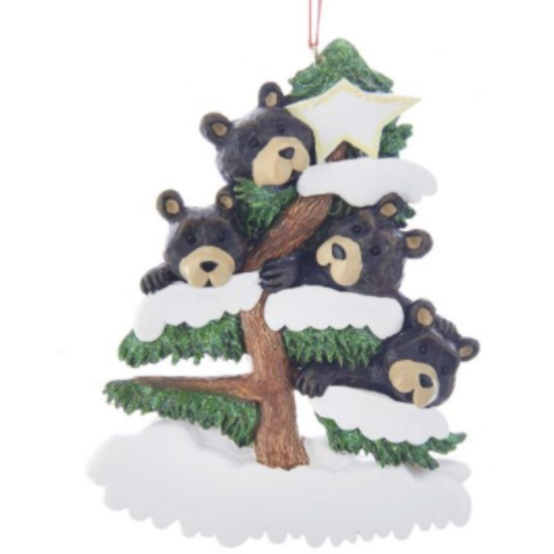 Bear Family of 4 Ornament