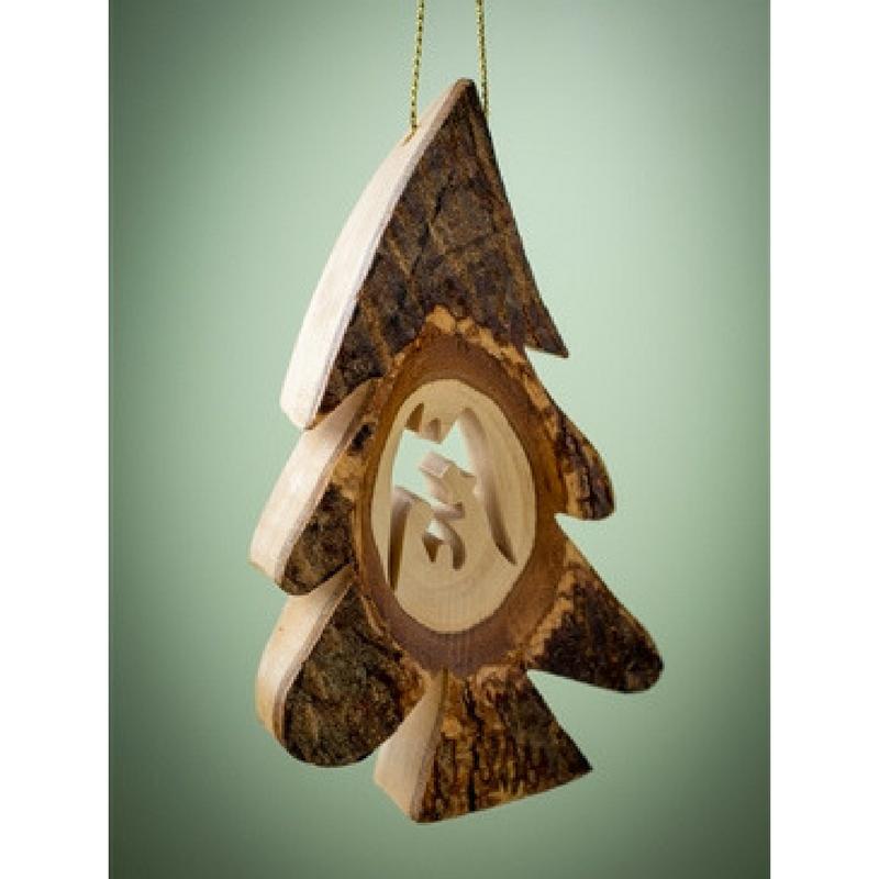 Thick Bark Tree Ornament