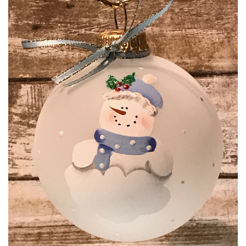 Baby Boy Snowbaby Ornament