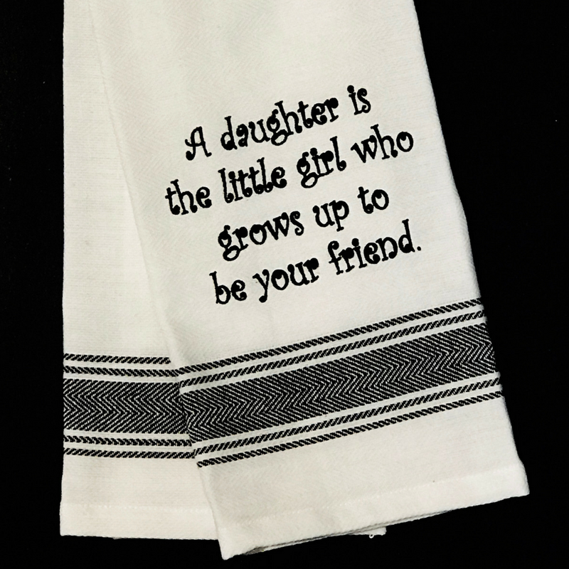 A Daughter Tea Towel