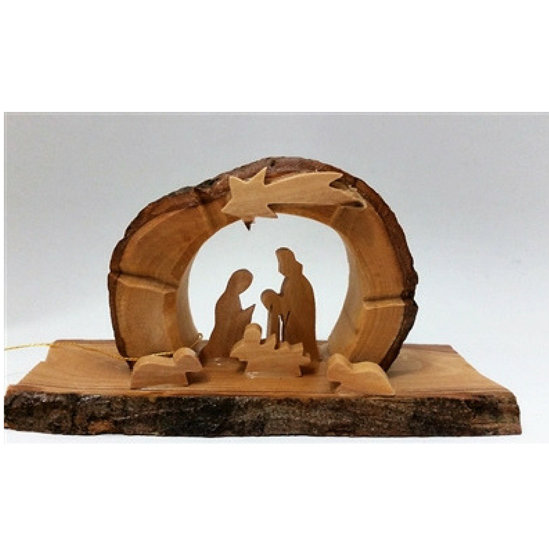 Arched Grotto Holy Family
