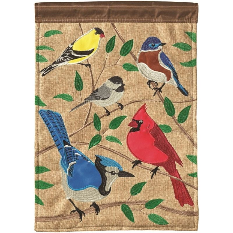 Songbirds Garden Flag