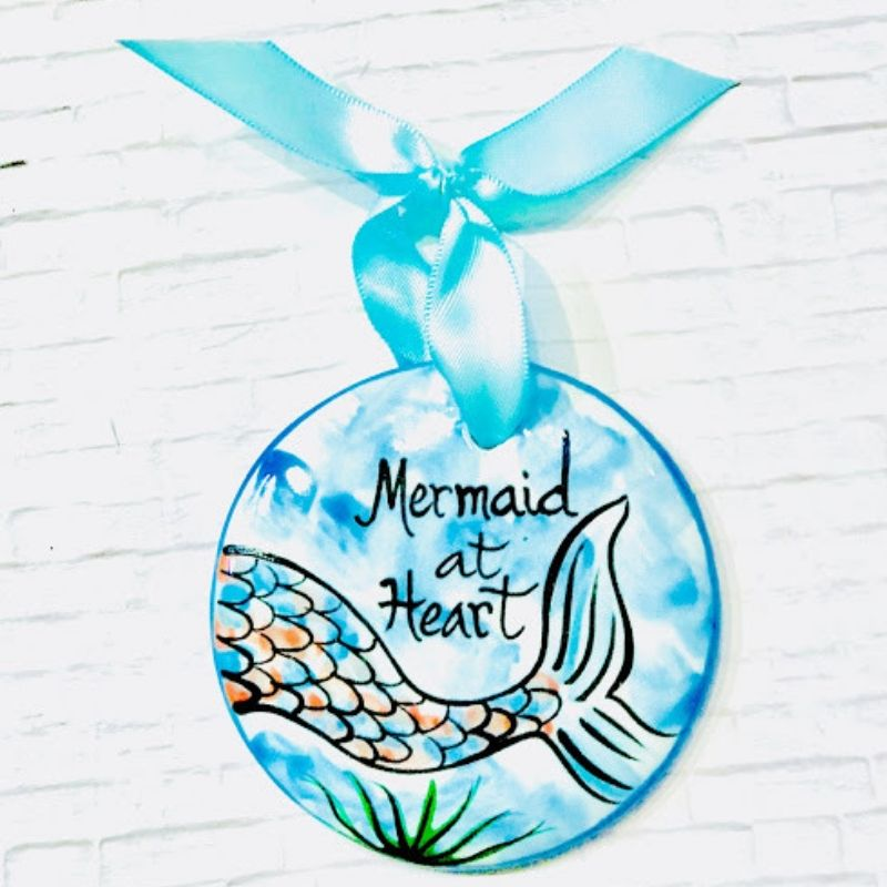 Mermaid Flat Ornament