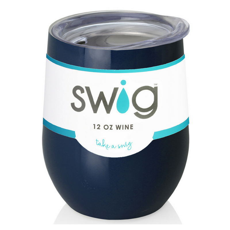 Stemless Wine Cup in Navy