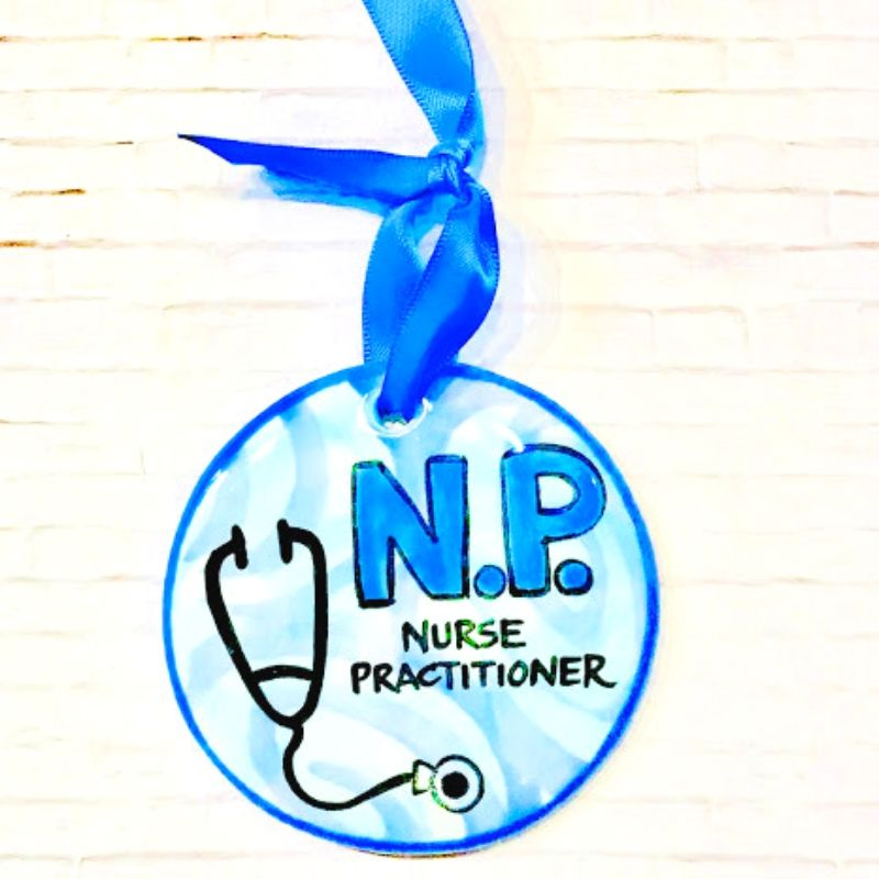 Nurse Practitioner Flat Ornament