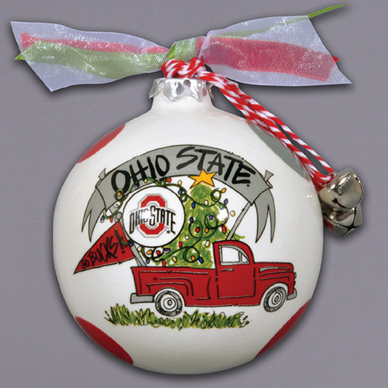Ohio Truck Ornament