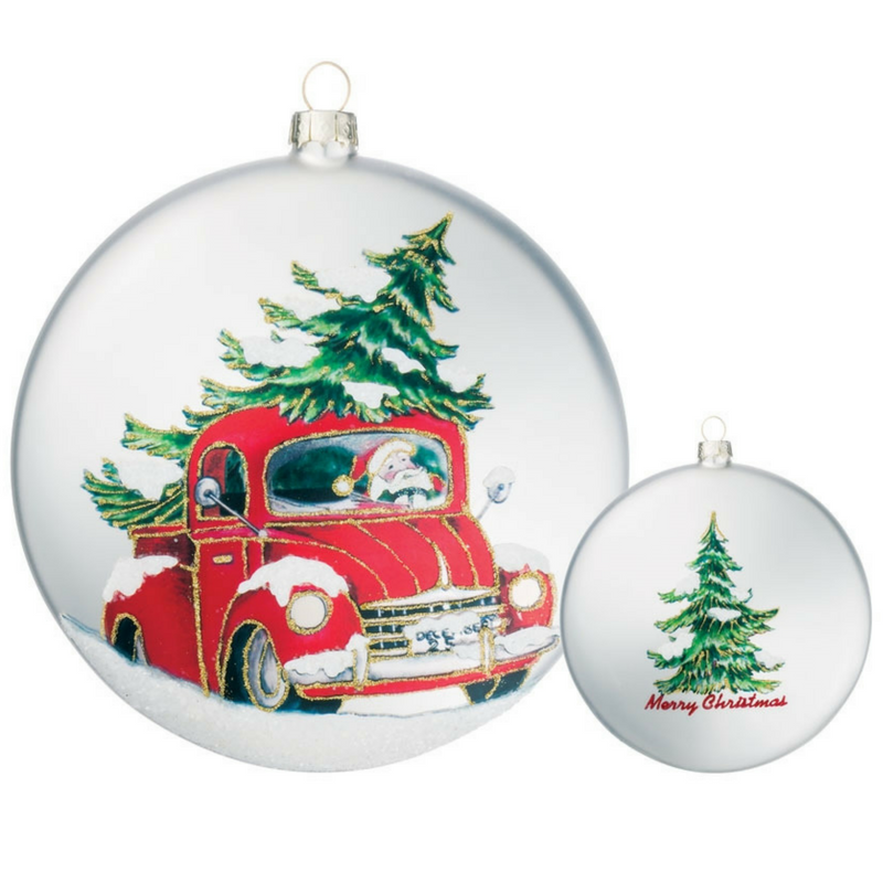 Truck w/ Tree Ornament