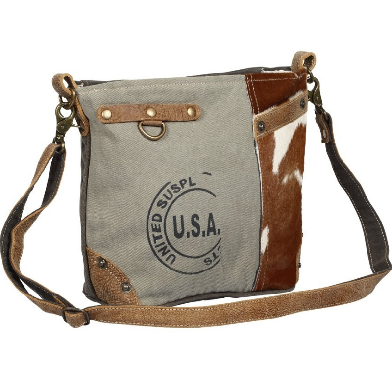 USA Stamp Shoulder Bag