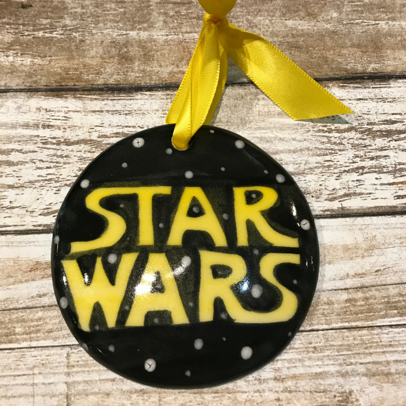 Star Wars Flat Ornament