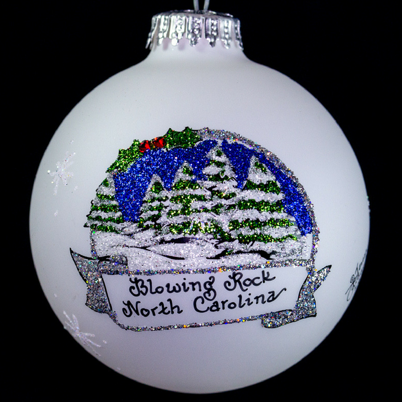 Blowing Rock Winter Ornament