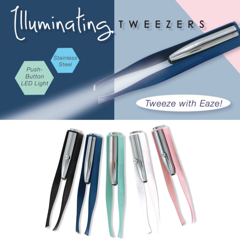 Illuminating Lighted Tweezers