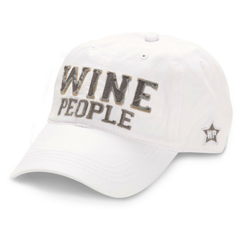 Wine People White Hat